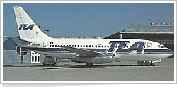 Trans European Airways Boeing B.737-2M8 OO-TEH