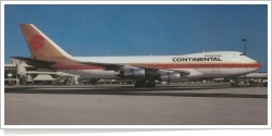 Continental Airlines Boeing B.747-238B N610PE