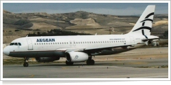 Aegean Airlines Airbus A-320-232 SX-DVN