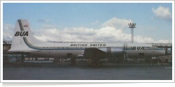 British United Airways Bristol 175 Britannia 317 G-APNA