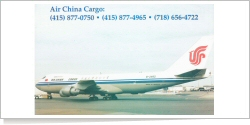 Air China Cargo Airlines Boeing B.747-2J6F [SCD] B-2462