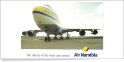 Air Namibia Boeing B.747SP-44 V5-SPF