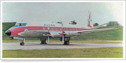 Aloha Airlines Vickers Viscount 745D N7414