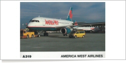 America West Airlines Airbus A-319-132 N817AW