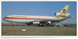 Continental Airlines McDonnell Douglas DC-10-30 N12601