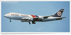 Flying Tigers Boeing B.747-124F N822FT