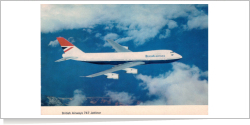 British Airways Boeing B.747-200 unknown