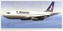 Britannia Airways Boeing B.737-200 unknown