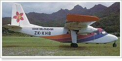 Cook Islands Airways Britten-Norman BN-2A-21 Islander ZK-KHB