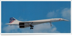 British Airways Aerospatiale / BAC Concorde 102 G-BOAC