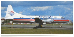 Air Freight NZ Convair CV-580F ZK-FTA