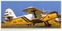 Air Service Hungary Antonov An-2PF HA-YHD