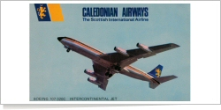 Caledonian Airways Boeing B.707-320C unknown