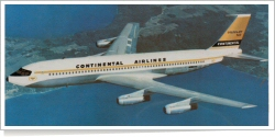 Continental Airlines Boeing B.707-124 N70773