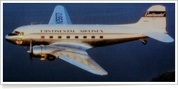 Continental Airlines Douglas DC-3-277B N25673
