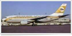 Libyan Arab Airlines Airbus A-310-203 7T-VJF