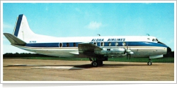 Aloha Airlines Vickers Viscount 798D N7416