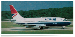 British Airways Boeing B.737-236 G-BGDK