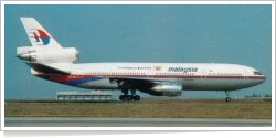 Malaysia Airlines McDonnell Douglas DC-10-30 9M-MAV