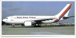 Royal Nepal Airlines Airbus A-310-304 D-APON