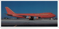Braniff International Airways Boeing B.747-227B N602BN