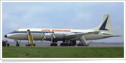 Lloyd International Airways Bristol 175 Britannia 307 G-ANCD