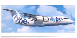 FlyBE. BAe -British Aerospace BAE 146 unknown