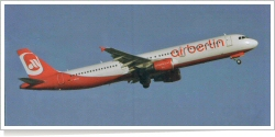Air-Berlin Airbus A-321-211 D-ABCB