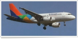 Eritrean Airlines Airbus A-319-111 LZ-AOA