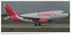 Avianca Colombia Airbus A-319-123SL D-AVWL