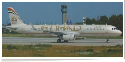 Etihad Airways Airbus A-321-231 D-AVXL