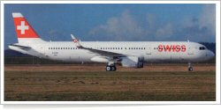 Swiss International Air Lines Airbus A-321-211 D-AYAI