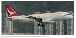 Cathay Dragon Airbus A-320-232 B-HSO