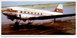 Western Airlines Douglas DC-3 unknown