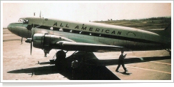 All American Airways Douglas DC-3 unknown