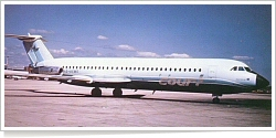 Court Line Aviation British Aircraft Corp (BAC) BAC 1-11-518FG G-AXMG