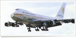 National Airlines Boeing B.747-135 N77772