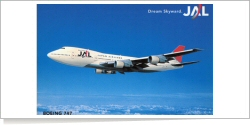 JAL Boeing B.747-200 unknown