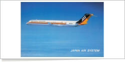 Japan Air System McDonnell Douglas MD-81 (DC-9-81) JA8262