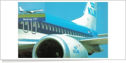 KLM Royal Dutch Airlines Boeing B.737-400 unknown