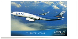 LAN Airlines Airbus A-340-313X unknown