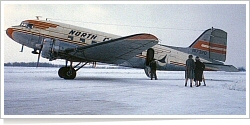 North Central Airlines Douglas DC-3-209 N17320
