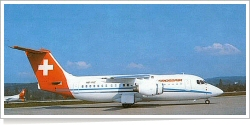 Crossair BAe -British Aerospace BAe 146-200A HB-IXC