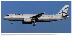 Aegean Airlines Airbus A-320-232 F-WWBX