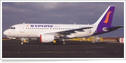 Syphax Airlines Airbus A-319-112 D-AHIN