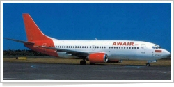 Awair International Boeing B.737-301 PK-AWU