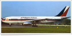 Philippine Airlines Airbus A-300B4-203 F-WZEO