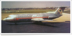 American Airlines British Aircraft Corp (BAC) BAC 1-11-401AK N5022