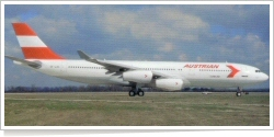 Austrian Airlines Airbus A-340-212 OE-LAG