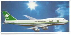 Saudia Boeing B.747-300 unknown